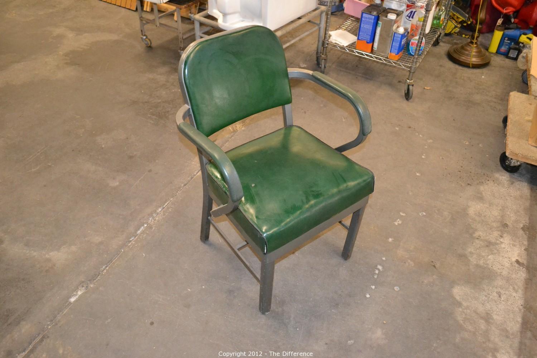 Vintage Harter Steel Office Chair
