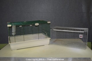 2 Animal Pet Cages