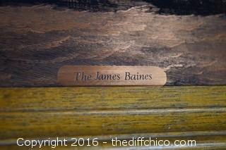 Copper Art of The James Baines Ship