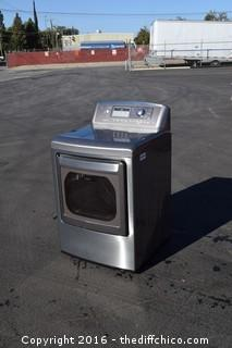 Working LG True Steam Gas Dryer