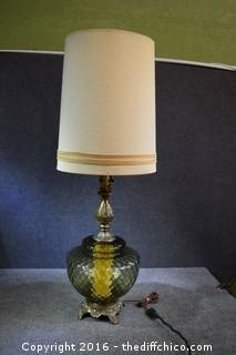 Working 1950's Style Lamp
