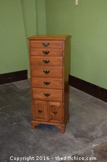 Maple Hi Chest w/6 Drawers