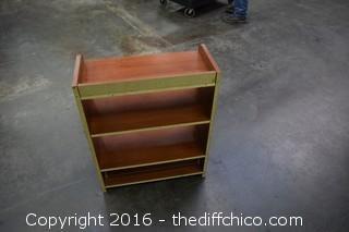 Shelf Unit w/Drawer-Needs Backboard
