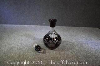 Crystal Decanter w/Stopper