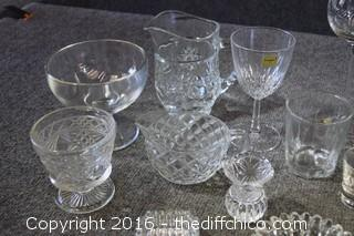 Crystal & Glass Lot