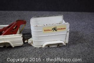 Vintage Truck & Trailer-needs wheels