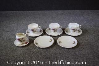 10 Pieces of Tea Set