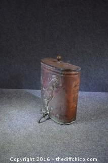 Vintage Copper Dispenser