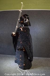 Working Darth Vader Figure - 46 inches tall