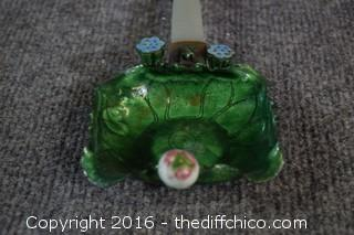 Vintage Lily Pad Ashtray