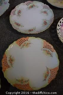 10 Decorative Hand-Painted Plates