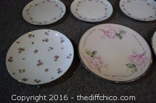Mixed Lot of Plates & Bowls - 15 Pieces