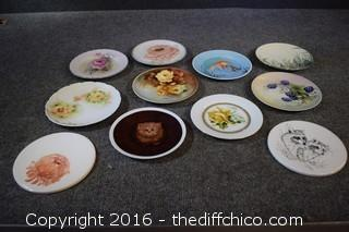 11 Small Hand-Painted Plates & More