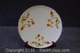 Jewel Tea Plate by Hall