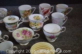 19 Tea & Coffee Cups