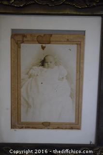 Vintage Photo & Frame