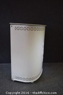 Vintage Metal Hamper