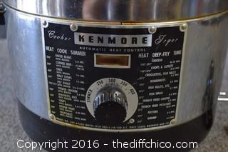 Working Kenmore Electric Fryer