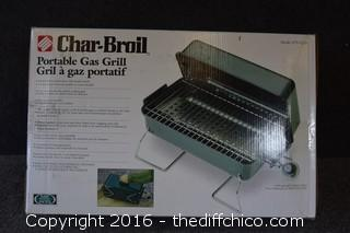 NIB Char-Broil Portable Gas Grill