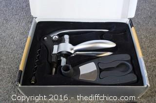 4 Piece Corkscrew Set