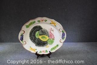 Vintage Made in California USA Turkey Platter