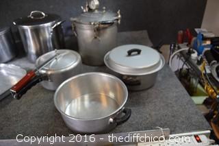 Pressure Cooker, Pots & More