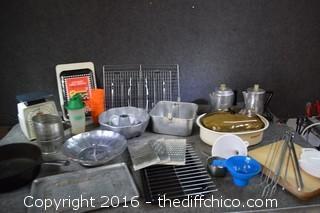 Mixed Kitchen Lot