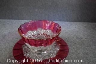 Vintage Seasonal Platter & Bowl