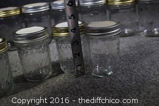 16 Preservative Jars