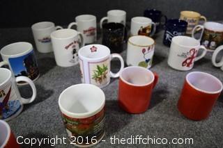 Lot of Coffee Mugs