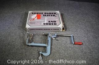 Apple Parer/Slicer/Corer - In Box