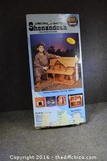 Shenandoah Log Cabin-Box Open-As is