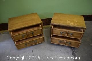 Pair of Drexel End Tables