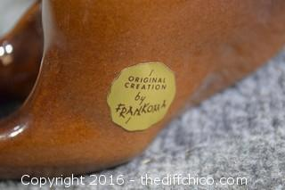 Frankoma Pottery Cat