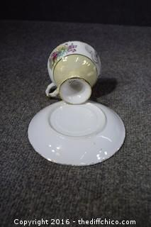 2 Cup & Saucer Sets