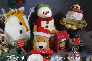 Snowmen, Ornaments, Coffee Cups & More
