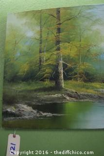 Signed Original Art on Canvas