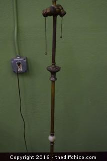 Working Vintage 62in tall Pole Lamp