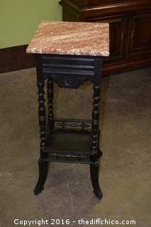 Vintage Marble Top Table