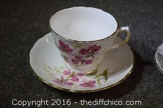 4 Cup & Saucer Sets