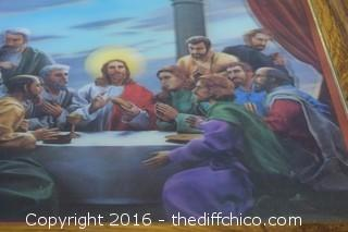 3D Last Supper Picture