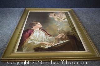 Framed Angel Print