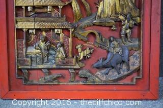 Carved Oriental Art