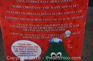 NIB Talking Christmas Tree