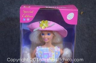 Easter Style Barbie NIB