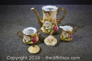 Vintage Lefton Tea Set - 5 Pieces