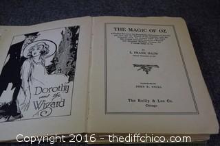 1919 The Magic of OZ Book