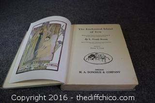 1903 The Enchanted Island of Yew Book