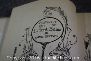 1914 Rare Tik-Tok of OZ Book
