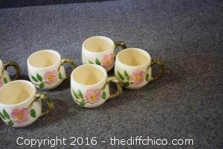7 Franciscan Desert Rose - Coffee Mugs